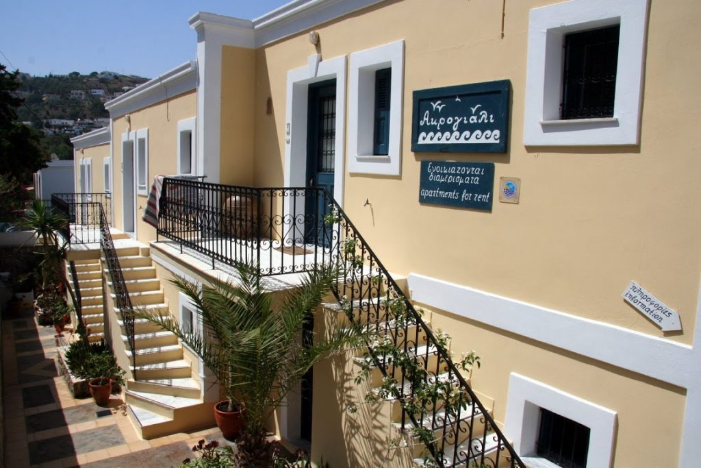 Acroyali Apartments Kalymnos, Myrties Village - Accommodation